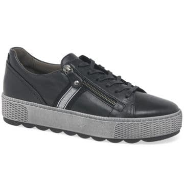 Gabor Quench wide fit casual trainer