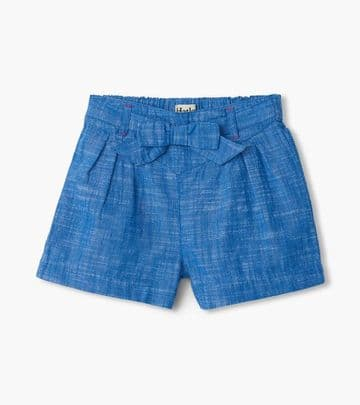 Hatley Belted Chambray Paper Bag Shorts S20CCK1493
