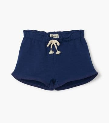 Hatley Navy French Terry Paper Bag Shorts S20PNK359B
