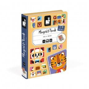 Janod Mix And Match Magnetic Book J02587