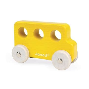 Janod Sweet Cocoon Push-along Vehicles (various types)