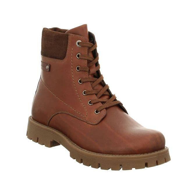 Josef Seibel Cheston 01 - castagne Lace Up and Zip Boot