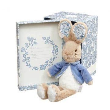 Peter Rabbit Soft Toy In Gift Box
