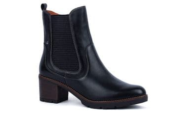 Pikolinos Llanes W7H-8948 - black Leather Ankle Boot