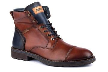 Pikolinos York M2M-8170 - brown Leather Lace Up Boot