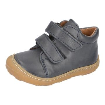 Ricosta Chrisy See (Navy) Leather Velcro Fastening Boot