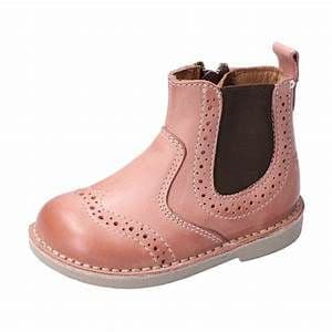 Ricosta Dally Rose Leather Chelsea Boot Side Zip Fastening