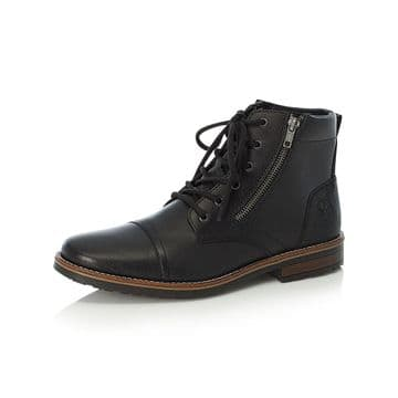 Rieker 33200 mens lace up boot wide fit