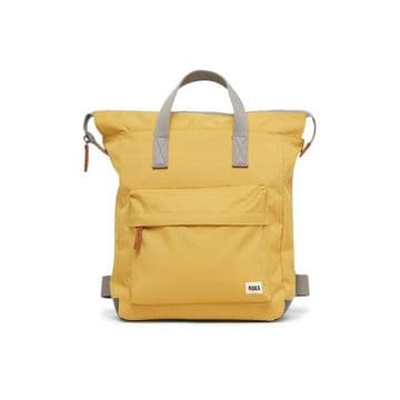 Roka Bantry B - small sustainable Canvas backpack - Flax