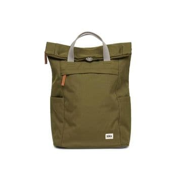 Roka Finchley A - Small Sustainable  Backpack - Moss