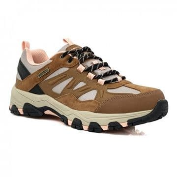 Skechers Selmen-West Highland-Waterproof Relaxed Fit - Brown/Tan Lace-up Trainer