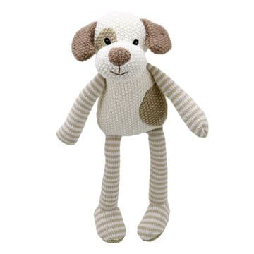 Wilberry Knitted Soft Toy - Dog WB004330