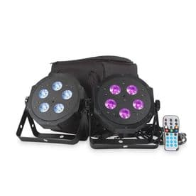 ADJ VPAR PAK 2x LED Pars with Remote and Bag