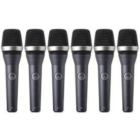 AKG D5 SIX PACK - Pack of 6xD5 Supercardioid Vocal Mic