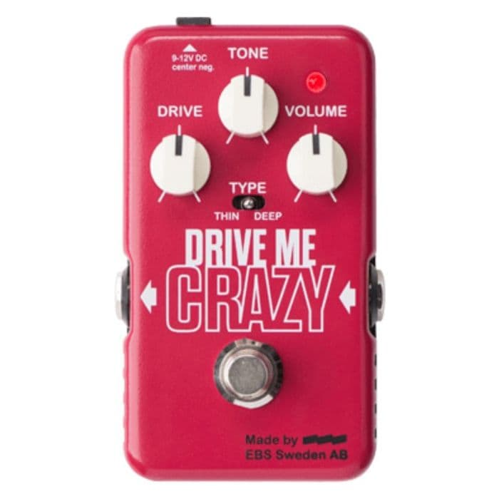 EBS Drive Me Crazy Distortion/Overdrive