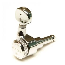 GraphTech Ratio Electric Locking 6 In-Line Classic 2 Pin Chrome