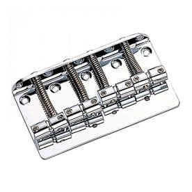 Guitar Tech P & JB-type Bass Bridge - Chrome