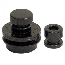 Guitar Tech Straplocks - Black