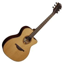 Lag T118ASCE Tramontane Slim Electro-Acoustic - Natural