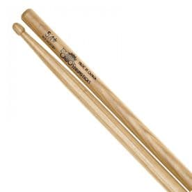 Los Cabos 5A Red Hickory Drumstick - Wood Tip