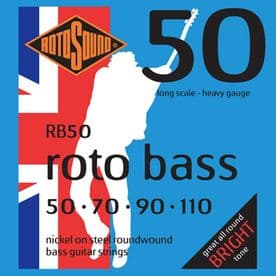 Rotosound  RB50 Roto Bass Nickel String Set