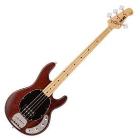 Sterling by Music Man S.U.B Ray 4 Bass in Walnut Satin