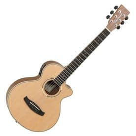 Tanglewood DBTTCEBW Discovery Travel Electro Acoustic - Black Walnut