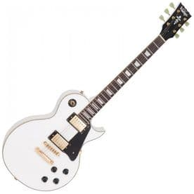 Vintage V100AW ReIssued Electric Guitar - Arctic White