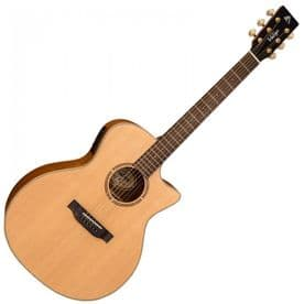 Vintage 'Virtuoso' Electro-Acoustic Guitar - Rory Evans Natural