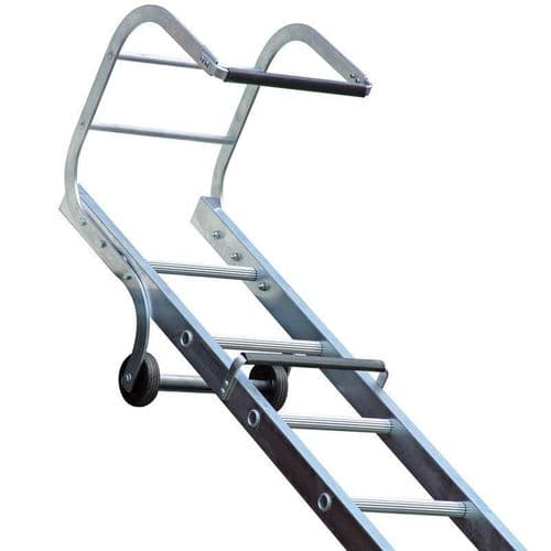 Lyte TRL145 Trade Roofing Ladder Single Section 1x17 Rung 4.50m