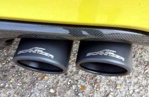 AC Schnitzer quad sports exhaust for BMW M4 (F82/F83), from