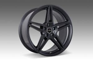 AC1 anthracite alloy wheel sets 20 - 22