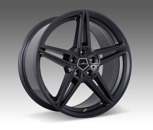 AC1 anthracite alloy wheel sets 22