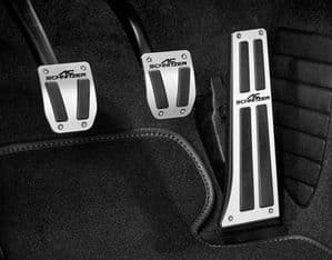 Aluminium pedal sets for BMW M2 (F87), from