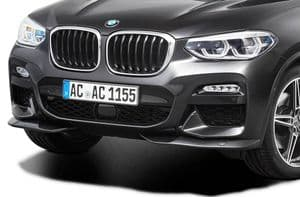 Front spoiler elements for BMW X3 (G01) M Sport