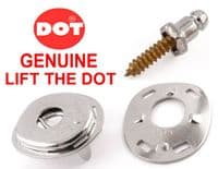"""LIFT THE DOT canopy boat cover fastener kit 5/8"""" stainless screw stud plate"""