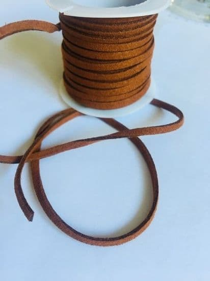 3mm Faux Suede Cord