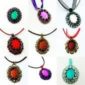 Astrid Lunasoft Pendant Beadwork Kit - Choose your colour!