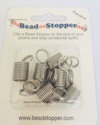 Bead Stopper Clips pack of 6