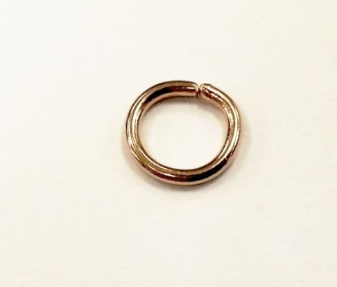 Gold Plated 10mm jump rings - 20* x jump rings for jewellery making, beadwork and craft projects