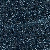 Miyuki Delica Seed Beads Size 11 Silver Lined Blue Zircon AB 5 grams