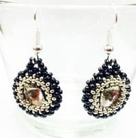 Rivoli Earring Beadwork Earring Kit with SWAROVSKI® ELEMENTS