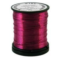 Wine  0.315mm (28 gauge) 35 gram Craft Wire Reel