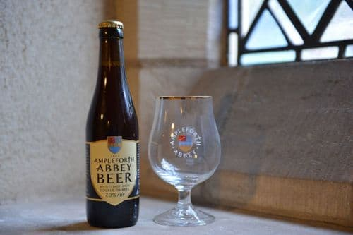 Ampleforth Abbey Beer Glass