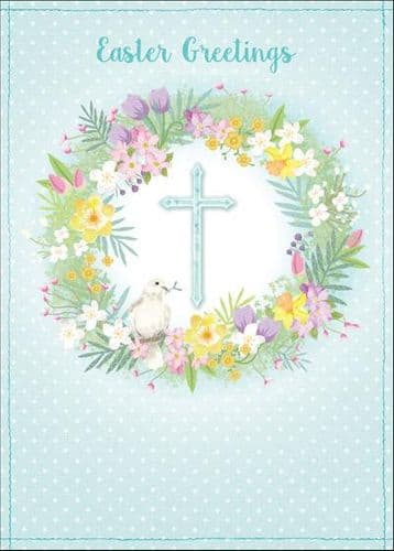Compassion Charity Easter Cards: Cross/Dove (5 Pack)