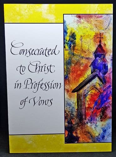 Consecrated to Christ in Profession of Vows