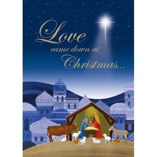 The Leprosy Mission - Love Came Down Christmas Cards