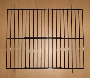 """2 x BLACK UNIVERSAL FINCH / CANARY CAGE / CARRY UNI CAGE FRONTS 10"""" x 8"""" - WADES"""