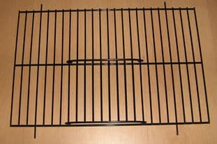 """2 x BLACK UNIVERSAL FINCH / CANARY CAGE / CARRY UNI CAGE FRONTS 12"""" x 8"""" - WADES"""