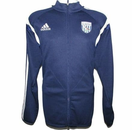 2014-2015 West Brom Tracksuit Top, WBA, Adidas, XL (Excellent Condition)